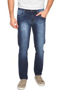 Calça Jeans Aleatory Skinny Azul
