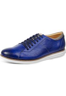 Sapato Esporte Fino Sandro Moscoloni Pulse Azul