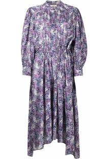 Isabel Marant Étoile Chemise Com Estampa Floral - Azul