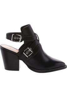 Bota Open Back New Western Black | Schutz