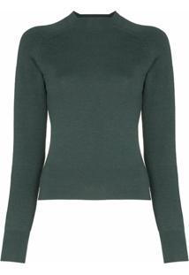 Carcel Suéter De Tricô - Verde