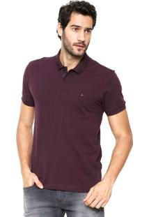 Camisa Polo Aramis Regular Fit Vinho