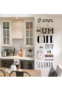 O Amor E Um Café
