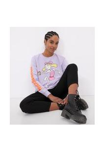 Blusão Fechado Estampa Helga Nickelodeon   Nickelodeon   Roxo   Pp