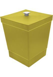 Lixeira Stolf Suporte Amarelo