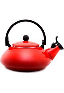 Chaleira Zen Le Creuset Vermelha 1,5L - 13876