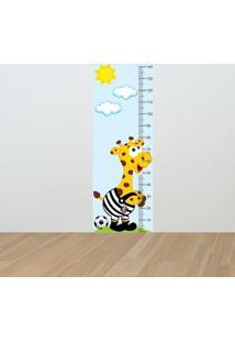 Adesivo Régua De Crescimento Girafa Corinthiano (0,50M X 1,50M)