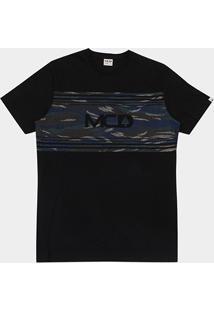 Camiseta Mcd Camouflage Masculina - Masculino