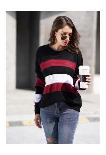 Blusa De Lã Bariloche Feminina - Vinho