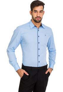 Camisa Unyforme Social Azul