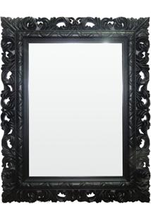 Espelho De Parede Rocco 51X66Cm Preto