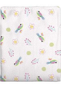 Cobertor Bercinho Flanelado - Arara