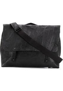 Transit Foldover Satchel Shoulder Bag - Preto