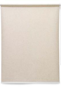 Cortina Soft Jacquard 2 Folhas 140X160 - Evolux - Bege Médio