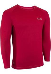 Camisa Raglã Poliamida Manga Longa Proteção Solar Masculina - Masculino