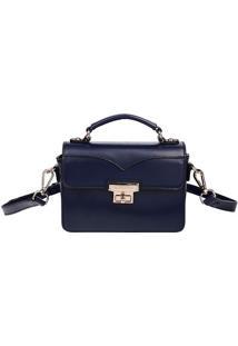 Bolsa Carteiro - Azul Marinho - 15X21X7,5Cmfellipe Krein