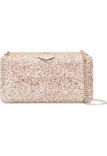 Jimmy Choo Clutch Ellipse - Rosa
