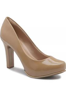 4d804746ef Sapato Bege feminino