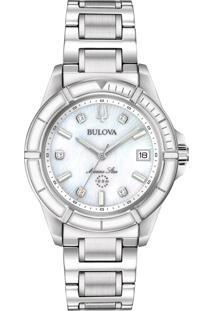 Relógio Bulova Feminino Aço - 96P201