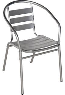 Cadeira Para Jardim Em Alumínio Poltrona - Mor 9017