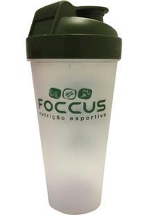 Coqueteleira 1 Dose - Foccus Nutrição 600Ml - Unissex