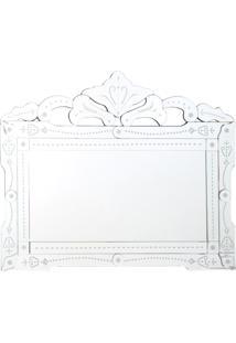 Espelho Veneziano Retangular 83X100Cm