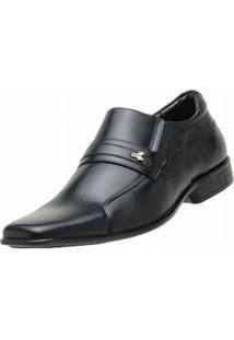 Sapato Social Escrete - Masculino-Preto
