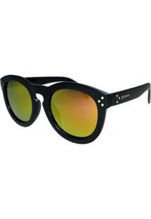 Óculos De Sol Díspar D1667 Armação Grossa Lentes Espelhadas Rosa