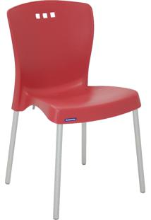 Cadeira Mona Tramontina 92050040 Vermelha