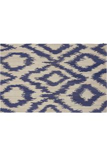 Tapete Kilim Ikat Mango Light Blue