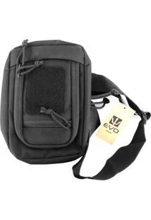 Bolsa Transversal De Ombro Evo Tactical Sling Bl-083 Black
