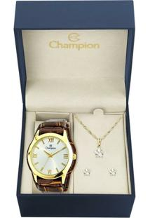 Kit Relógio Champion Feminino - Cn20346W - Feminino