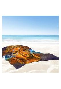 Toalha De Praia / Banho Buda Color Único