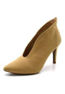 Sapato Scarpin Abotinado Croco Salto Alto Feminina Confortável
