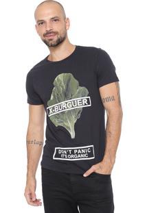 Camiseta Sergio K X-Burguer Preta