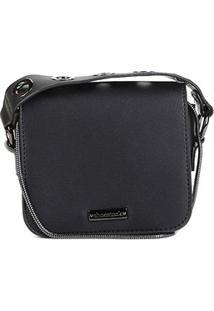 Bolsa Shoestock Mini Bag Tiracolo Metais Feminina