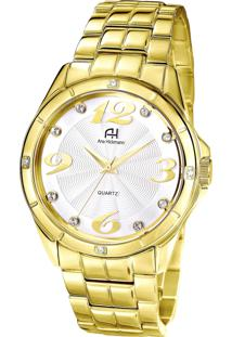 3343f15788d Relógio Digital Ana Hickmann Dourado feminino