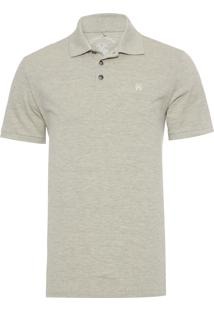 Polo Masculina Simple Basic - Verde