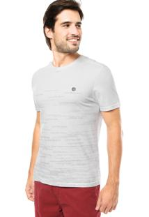 Camiseta Calvin Klein Gola Branca