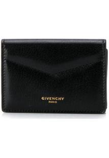Givenchy Carteira Dobrável Mini - Preto
