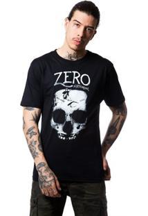 Camiseta Basica Grind Masculina - Masculino-Preto