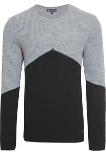 Blusa Tricot Masculina Noah - Cinza