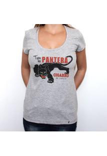 a9286a5b63 El Cabriton. Tapa Na Pantera - Camiseta Clássica Feminina