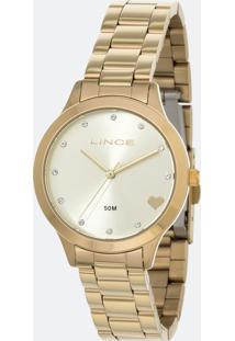 Kit Relógio Feminino Lince Lrg4450L C1Kx Analógico 5Atm