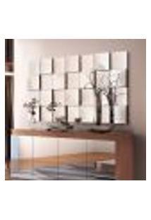 Painel Espelho De Vidro Decorativo 136,5Cmx78Cm Liverpool