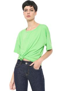 Camiseta Colcci Neon Verde - Kanui