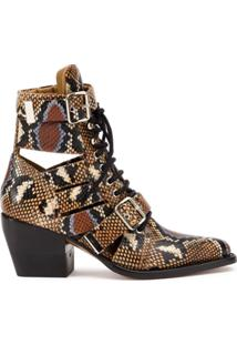 Chloé Ankle Boot 'Rylee' - Neutro