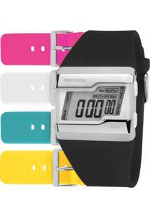 Relógio Mormaii Feminino Troca Pulseiras Fzca/T8A