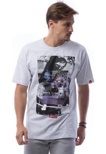 Camiseta Asphalt Blabac X Ayc Masculina - Masculino