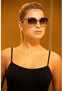 Óculos De Sol Chloé Ce737S 035 58 Cinza